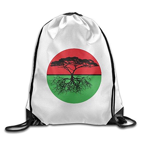 Unisex Family Tree Rbg Sports Drawstring Backpack Bag