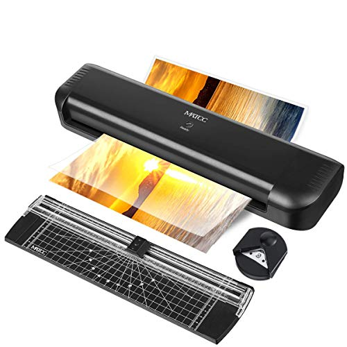MATCC 13'' Thermal Laminator Machine for A3/A4/A6 Laminating Machine with Paper Cutter and Corner Rounder 2 Roller System Laminator Machine Faster Warm-up Quick Laminating Speed Suit for Home Art by MATCC (Image #8)