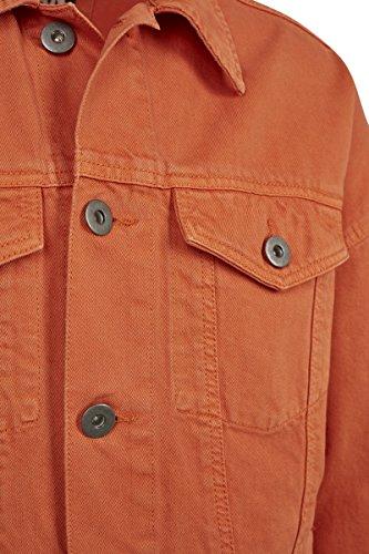 Classics para Urban Rust Naranja Chaqueta Oversize Garment Jacket Vaquera Orange Dye 01150 Hombre dHH0qw