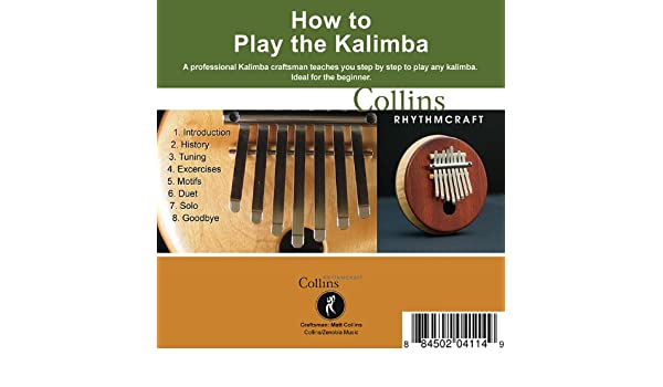 How to Play the Kalimba by Collins Rhythmcraft on Amazon