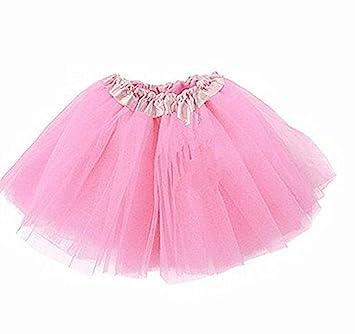 a4518c73d Lady Girls Women Tutu Skirt Skirts Fancy Dress Party Hen Party (Pink ...