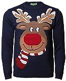 Rudolf Rentier Weihnachtspullover