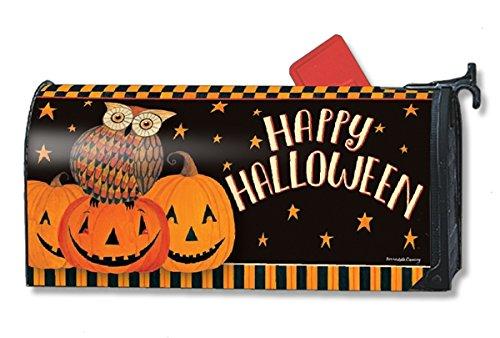 Owloween Fun Large Mailwraps磁気メールボックスカバー20140 B074Z3BRY8 18422