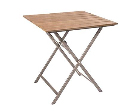Alu Klapptisch Campingtisch Gartentisch Tisch 70 X 70 Cm Höhe 74 Cm