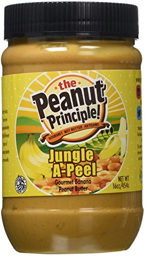 Company Jungle (The Peanut Principle Gourmet Nut Butter Company Jungle A-Peel Nut Butter, 16 Ounce)