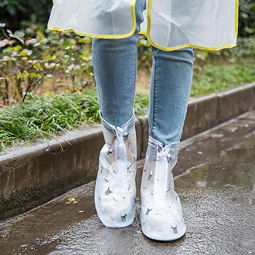 réutilisables Les été pour Chaussures extérieur de Housse Slip Anti Chaussures Pluie Protection Femmes Hommes Couvre imperméable épaissis HawZqYR