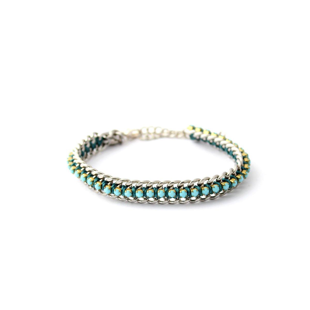 Wakami Women´s Smile Bracelet - Turquoise/Silver