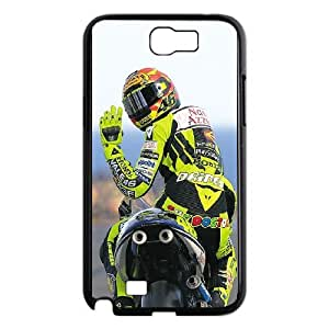 Samsung Galaxy Note 2 N7100 Phone Case for Valentino Rossi pattern design