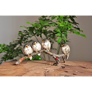 Top Collection Enchanted Story Fairy Garden Birds in Harmony Outdoor Statue
