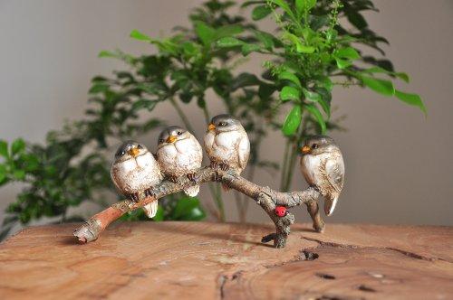 Top Collection Enchanted Story Fairy Garden Birds in Harmony Outdoor Statue