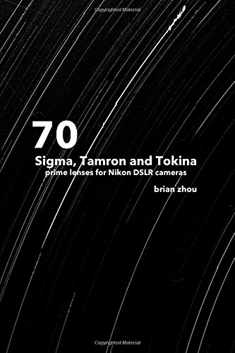 70 Sigma, Tamron and Tokina lenses for Nikon DSLR cameras