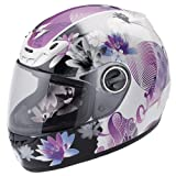 Scorpion EXO-400 Lilly Helmet Purple XL/X-Large
