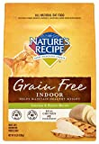Nature's Recipe Grain Free Indoor Chicken and Potato Recipe Dry Cat Food, 11-Pound