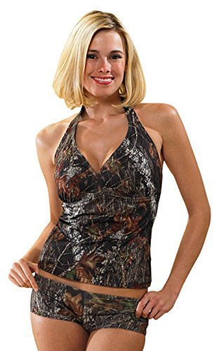 Weber Camo Leather Goods Mossy Oak Break-Up Halterkini-L