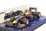 Minichamps 1:43 Scale 2013 Infiniti Red Bull Racing Renault RB9 Sebastian Vettel Winner Bahrain GP Car
