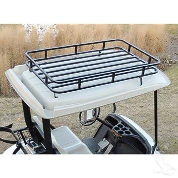 Golf Cart Roof Rack Storage System   CLUB CAR DS