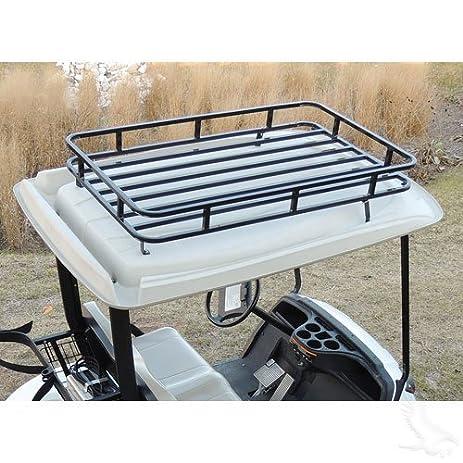Club Car DS Golf Cart Roof Rack Storage System
