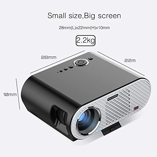 Aijin Full HD Proyector del Teatro casero, proyector de 3200 ...