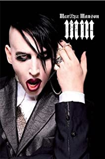 Amazon marilyn manson poster bloody pose rare new 24x36 marilyn manson poster portrait rare hot new 24x36 bookmarktalkfo Images