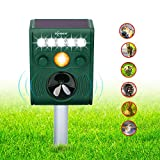 Best Animal Repellers - ZOVENCHI Ultrasonic Animal Pest Repeller, Outdoor Solar Animal Review