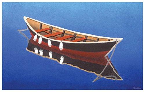 Cape Cod Dory Travel Art Print Poster by David Linton (12
