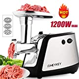 Meat Grinder Electric,Himimi 1200W Max Metal Food...