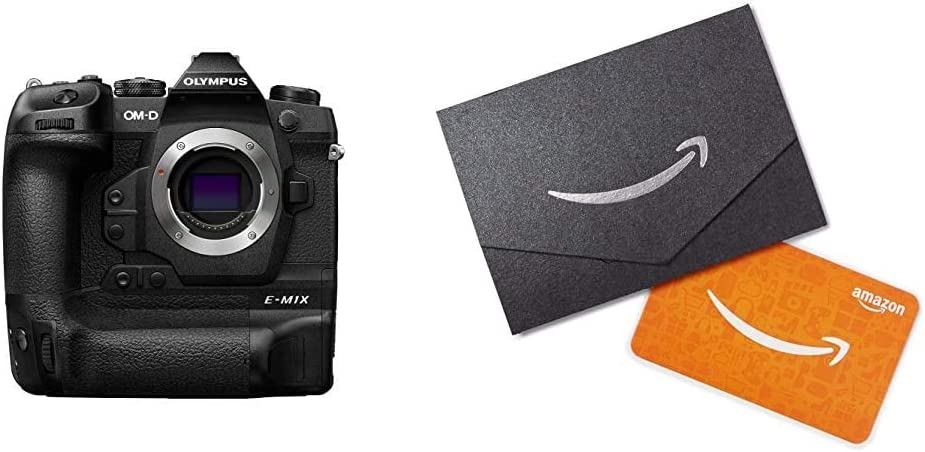 Olympus OM-D E-M1X with Amazon.com Gift Card in a Mini Envelope