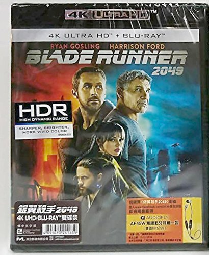 Blade Runner 2049  4K Uhd   Blu Ray   Hong Kong Version   Chinese Subtitled      2049