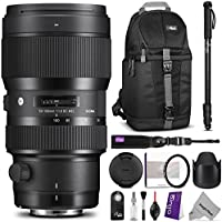 Sigma 50-100mm F1.8 Art DC HSM Lens for NIKON DSLR Cameras w/ Advanced Photo and Travel Bundle Basic Intro Review Image