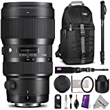 Sigma 693954 50-100mm f1.8 DC HSM Standard Zoom Lens for CANON DSLR Cameras w Advanced Photo and Travel Bundle