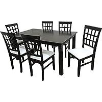 Camden Isle 162842 Maygrove 7 Piece Cappuccino Dining Set
