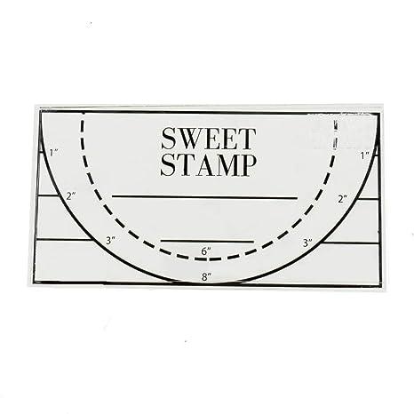 Amazon.com: AmyCakes Sweet Stamp - Sello para repostería ...