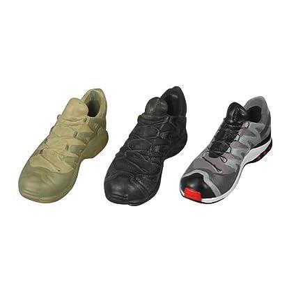 1/6 3 Par Magideal Bottes À Lacets Chaussures De Sport De Mode 12 Pouces Chiffres D'action gQWD3eY