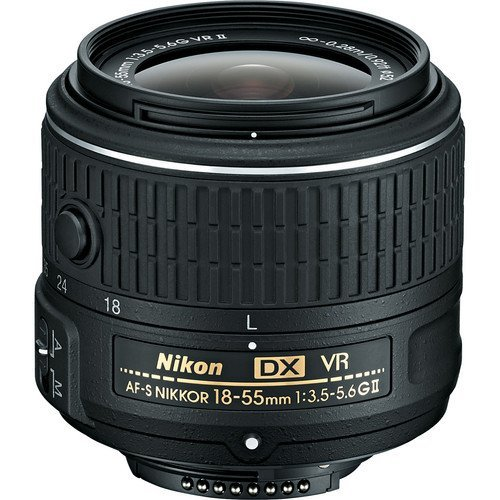 Nikon 18-55mm f/3.5-5.6G VR II AF-S White Box (Bulk Packaging)