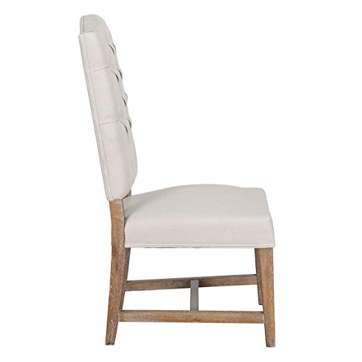 Amazon.com: Ava - Silla auxiliar (2 unidades), color beige ...