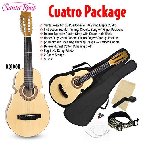 Santa Rosa 10 String, Right, KQ100, cuatro package (KQ100K) ()