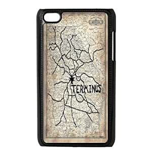 TV The Walking Dead Carl Hard Plastic phone Case Cover+Free keys stand FOR IPod Touch 4 ZDI047273