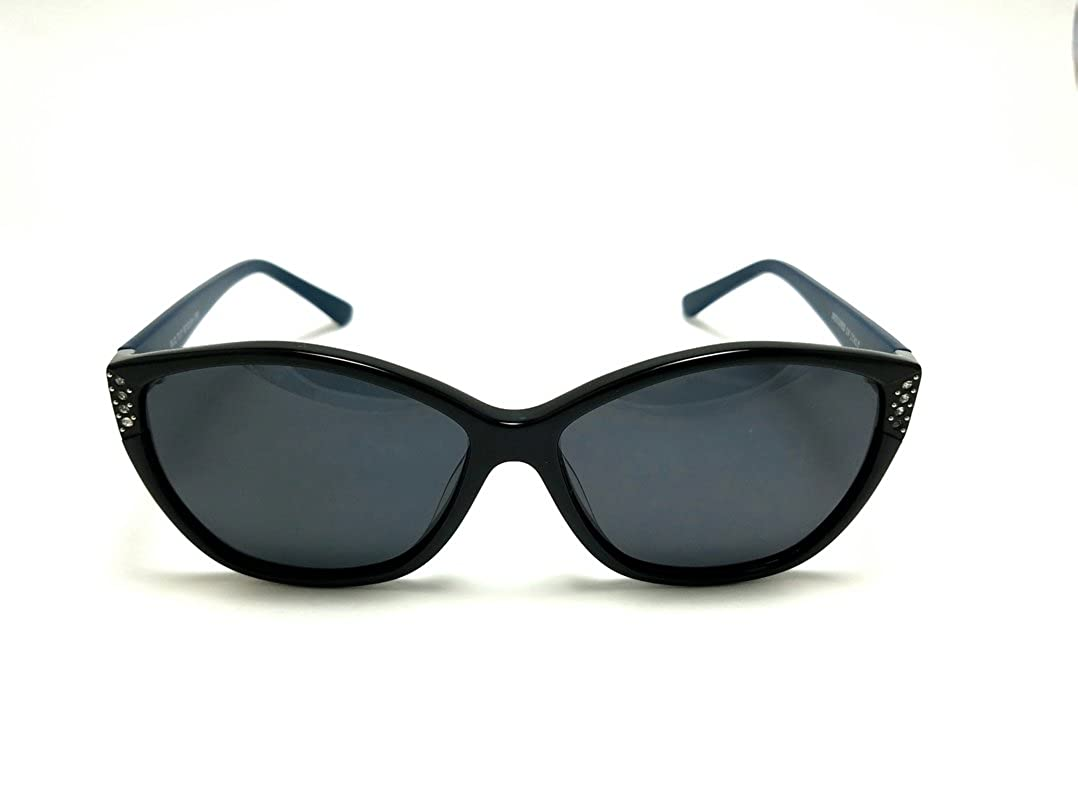 Tendence T17 Sunglasses 512 Black Grey Solid 57MM