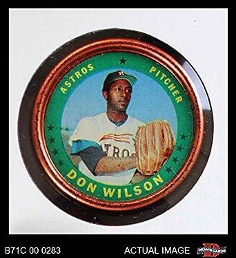 Amazoncom 1971 Topps Coins 41 Don Wilson Houston Astros