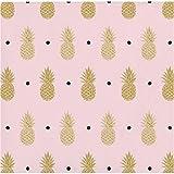 Golden Pineapple Beverage Napkins, 48 Count