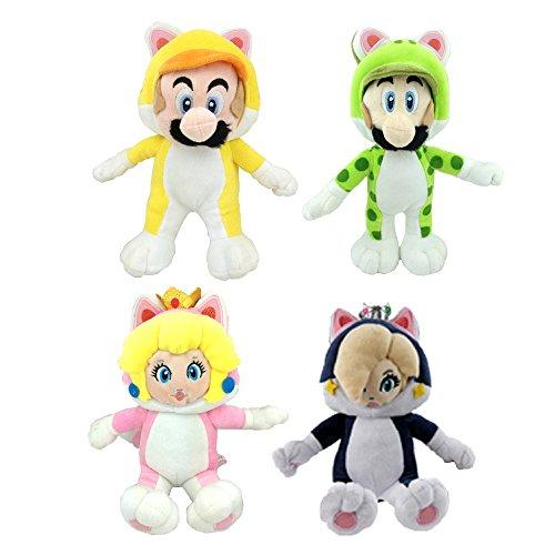 Super Mario 3D World Cat Mario Luigi Peach Rosalina Princess Plush Toy Stuffed Animal 9