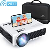 VANKYO Leisure 3W Mini WiFi Projector with Smart Phone Synchronize, 1080P Supported, 3600 LUX Portable Projector for iOS/Android Devices, Suitable for Home & Outdoor