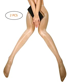 26240383a Metelam 8D Shiny Tights Shimmery Sheer Stockings Dancing Plus Size ...