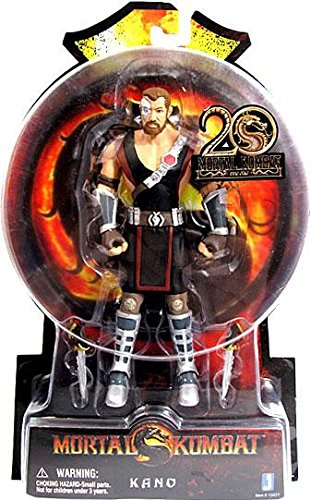 Kano Mortal Kombat 9 Action Figure (6 (Liu Kang Mortal Kombat Costume)
