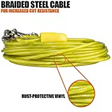 BV Pet Small Tie Out Cable for Dog up to 35