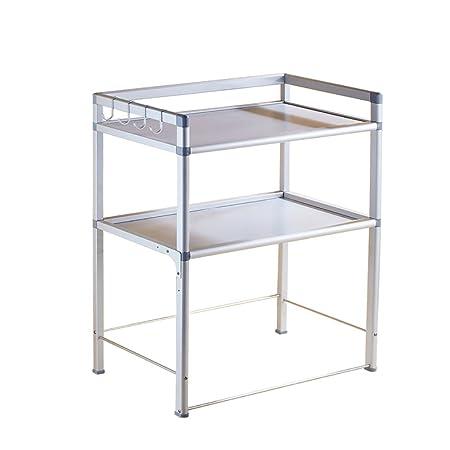 DQMSB microondas Cocina Rejilla del Horno de estantería estantería ...