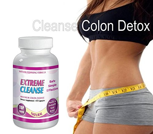 Extreme Cleanse Control Weight loss Diet System Kit 30 Day Supply All Natural by SliMaxUSA (Image #2)