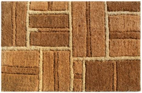 Imports Decor Coir Doormat, Yellow Bricks, 18-Inch by 30-Inch