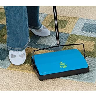 Bissell Sweep Up Carpet Floor Sweeper Rug Cleaning Pet Hair Spills Cordless NEW