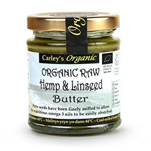 Carley s Org Raw Hemp & Linseed Butter 170g